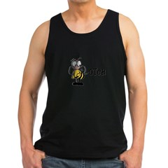 Beeotch (Bitch) Ash Grey Men's Dark Tank Top