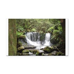 Elph horseshoe Falls,Tasmania Rectangle Car Magnet