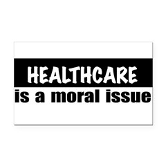 Healthcare Rectangle Car Magnet