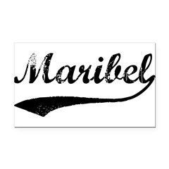 Vintage: Maribel Rectangle Car Magnet