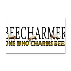 BEECHARMER Rectangle Car Magnet