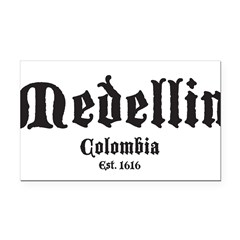 Medellin1 Rectangle Car Magnet