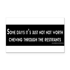 Some Days Rectangle Car Magnet