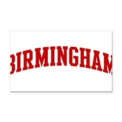 BIRMINGHAM (red) Rectangle Car Magnet