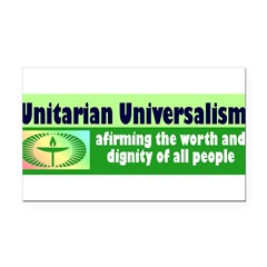 UNITARIAN Rectangle Car Magnet
