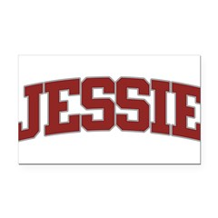 JESSIE Design Rectangle Car Magnet