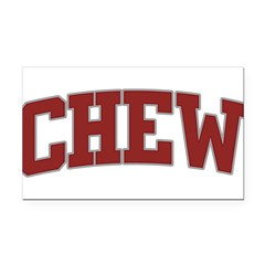 CHEW Design Rectangle Car Magnet