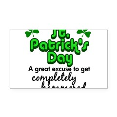 St. Patrick's Day Rectangle Car Magnet