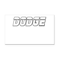 Dodge Rectangle Car Magnet