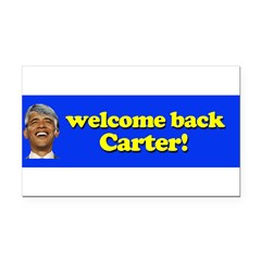 Welcome Back Carter Rectangle Car Magnet