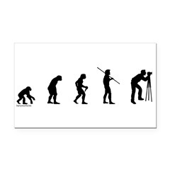 Photog Evolution Rectangle Car Magnet