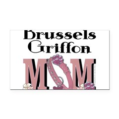 Brussels Griffon MOM Rectangle Car Magnet