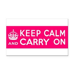 CZARINA PINK Rectangle Car Magnet