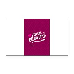 Team Edward Rectangle Car Magnet