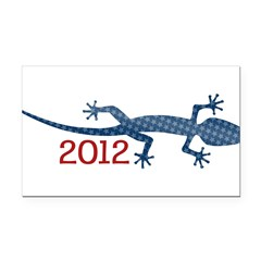 Newt 2012 Drawing Rectangle Car Magnet
