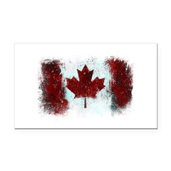 Canadian Graffiti Rectangle Car Magnet