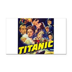 $9.99 Titanic Movie Rectangle Car Magnet
