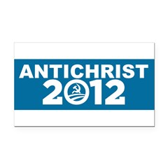 ANTICHRIST 2012 Rectangle Car Magnet