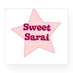 Sweet Sarai Oval Wine Label