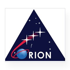 Project ORION Rectangle Wine Label