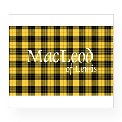 Tartan - MacLeod of Lewi Wine Label