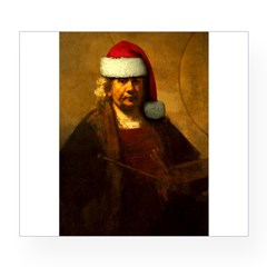 Rembrandt Santa Rectangle Wine Label