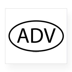 ADV Oval Wine Label