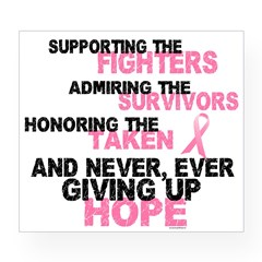 Fighters Survivors Taken 3 Pink Wine Label
