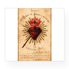 Sacred Heart of Jesu Wine Label