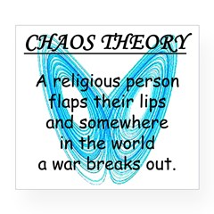 Chaos Theory - War Wine Label