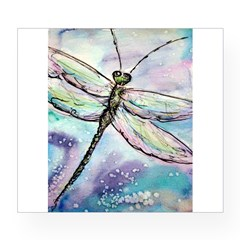 Dragonfly, Beautiful, Wine Label