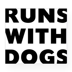 Runs Dog Wine Label