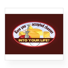 Accept Cheese Wine Label
