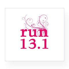 run 13.1 Wine Label