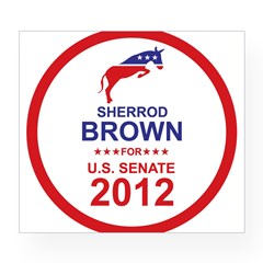 Sherrod Brown Wine Label