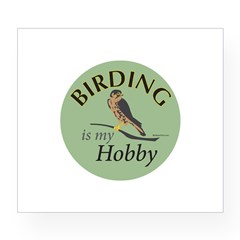 Birding is my HOBBY Wine Label