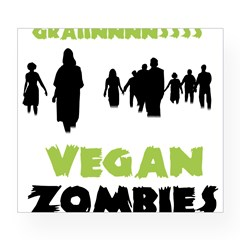 Vegan Zombie Wine Label