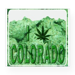 I pot leaf Colorado Wine Label