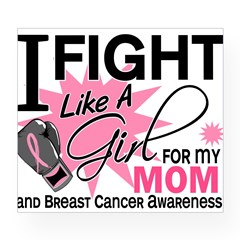 Fight Like A Girl Breast Cancer Wine Label