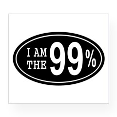 I am the 99 Percent Wine Label