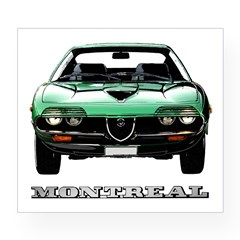 Alfa Romeo Montreal Wine Label