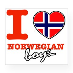 I love Norwegian Boy Wine Label