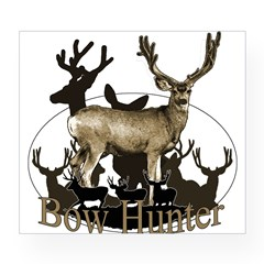Bow hunter 4 Wine Label