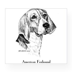 American Foxhound Wine Label