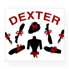 Dexter Dismembered Doll Wine Label