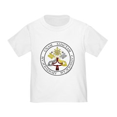 4 Marks of the Church - Latin Infant Creeper Toddler T-Shirt
