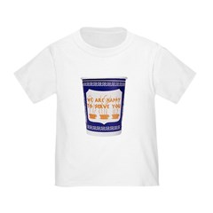 Greek Coffee Cup Toddler T-Shirt