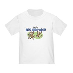 Big Brother (Monkey) Toddler T-Shirt