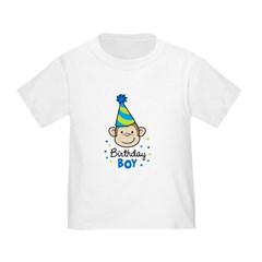 Birthday Boy - Monkey Toddler T-Shirt