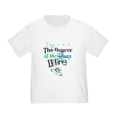 I am . . . The Bearer of The Bling Toddler T-Shirt
